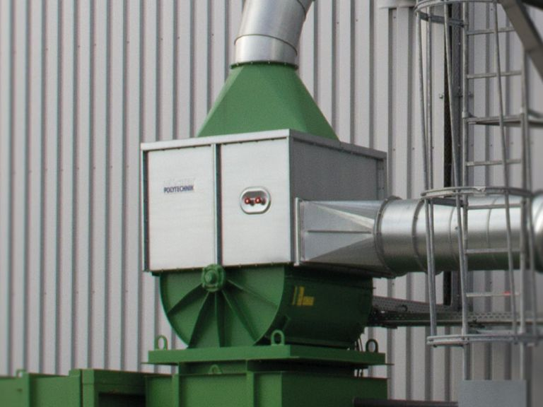 Material separator for foils and PVC packaging | HÖCKER POLYTECHNIK