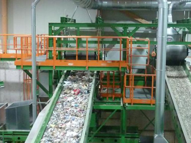 Recycling industry | HÖCKER POLYTECHNIK