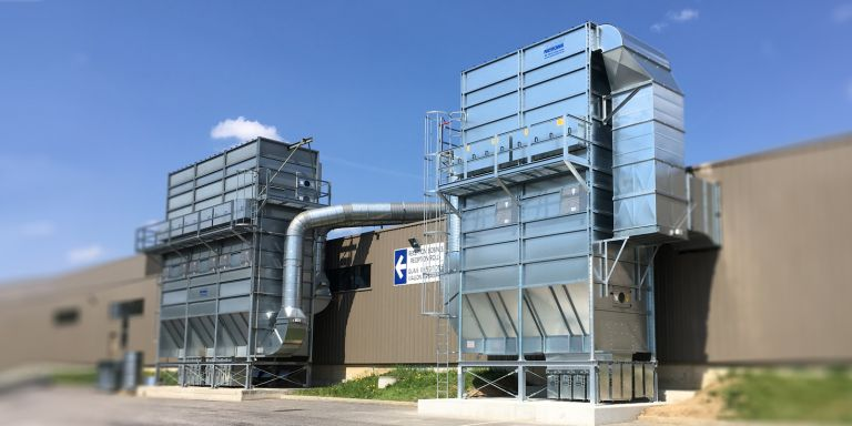 Dust collectors for paper processing | HÖCKER POLYTECHNIK