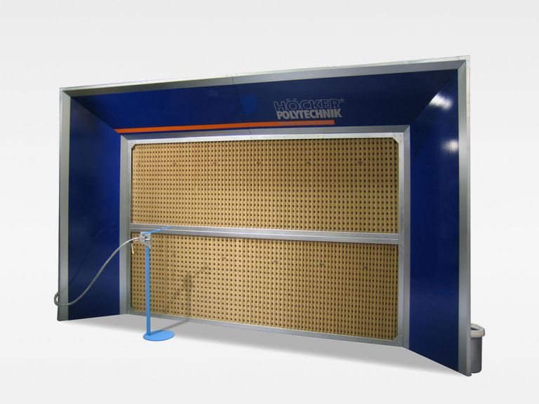 PaintStar PFW dry paint fog extraction walls | HÖCKER POLYTECHNIK