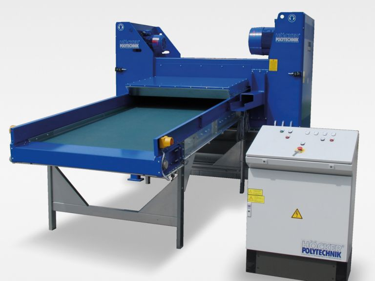 Shredder for cardboard - cardboard tubes | HÖCKER POLYTECHNIK
