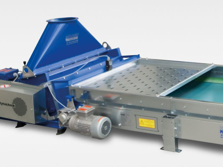 Shredder for center breaktrough | HÖCKER POLYTECHNIK